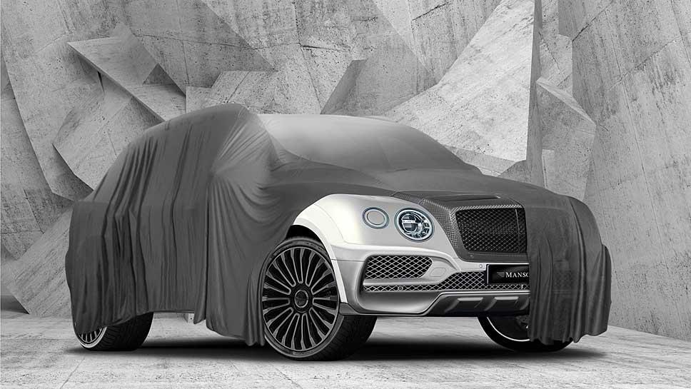 Mansory erlaubt erste Blicke auf den Bentley Bentayga