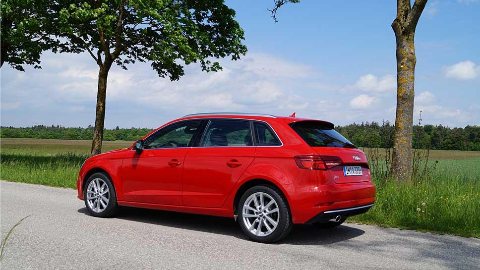 Audi hat den A3 zur Lebensmitte überarbeitet.