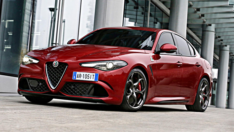 Die Giulia von Alfa Romeo muss sich starker Konkurrenz erwehren