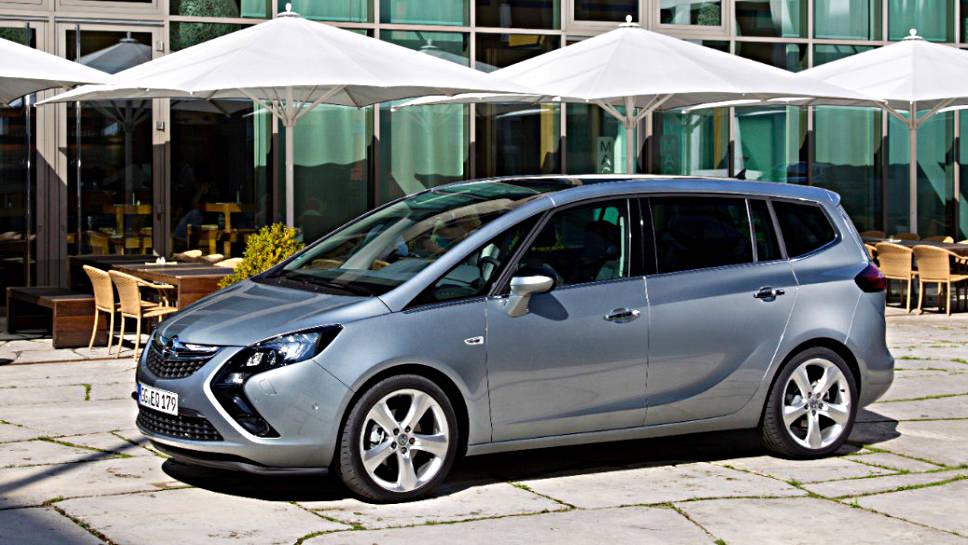 Der Opel Zafira steht in der Kritik
