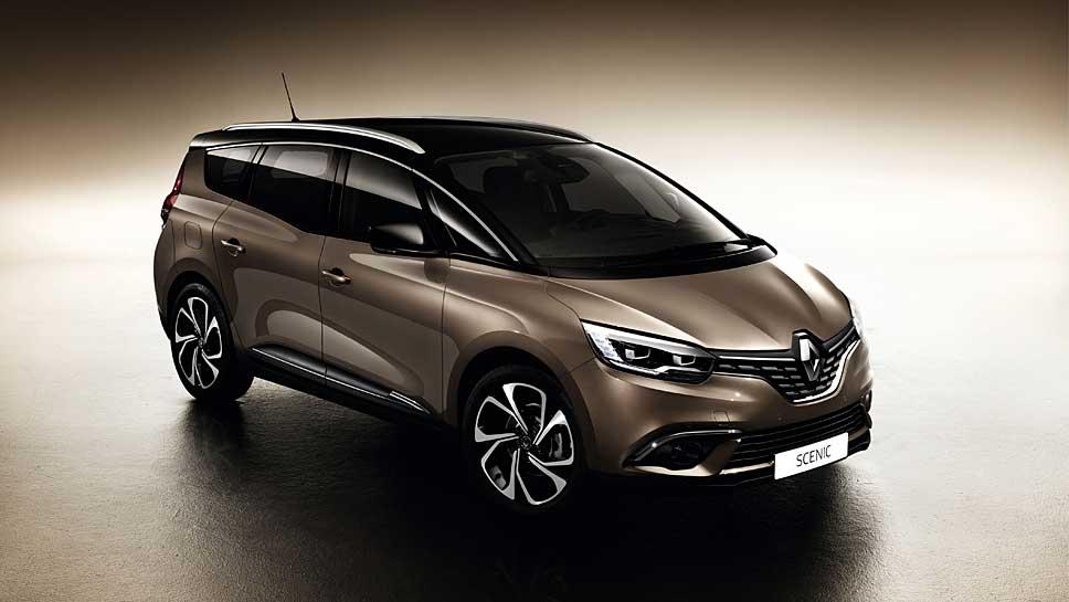 Renault stellt dem Scenic wieder einen großen Bruder zur Seite