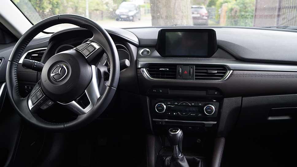 Der Mazda6 ist nicht nur eine elegante Limousine