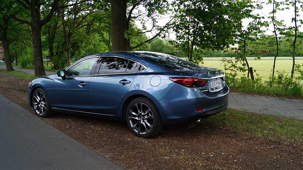 Mazda6 Elegante Limousine Unter Dem Radar Autogazette De
