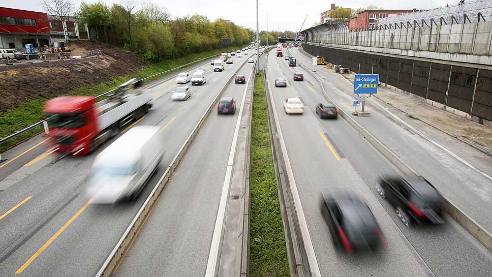 Überwiegend freie Fahrt haben die Autofahrer am kommenden Wochenende