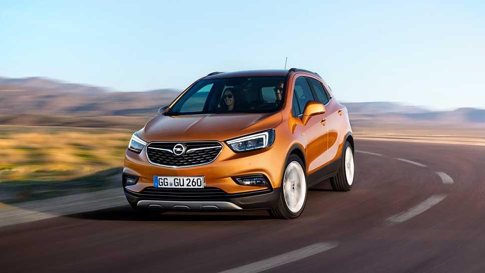Opel hat den Mokka geliftet