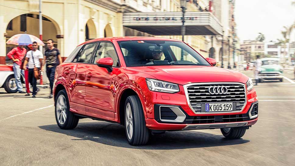 Der Audi Q2 soll den Absatz weiter befördern.