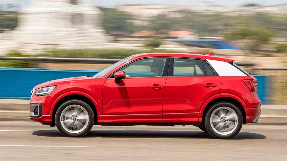Der Audi Q2.