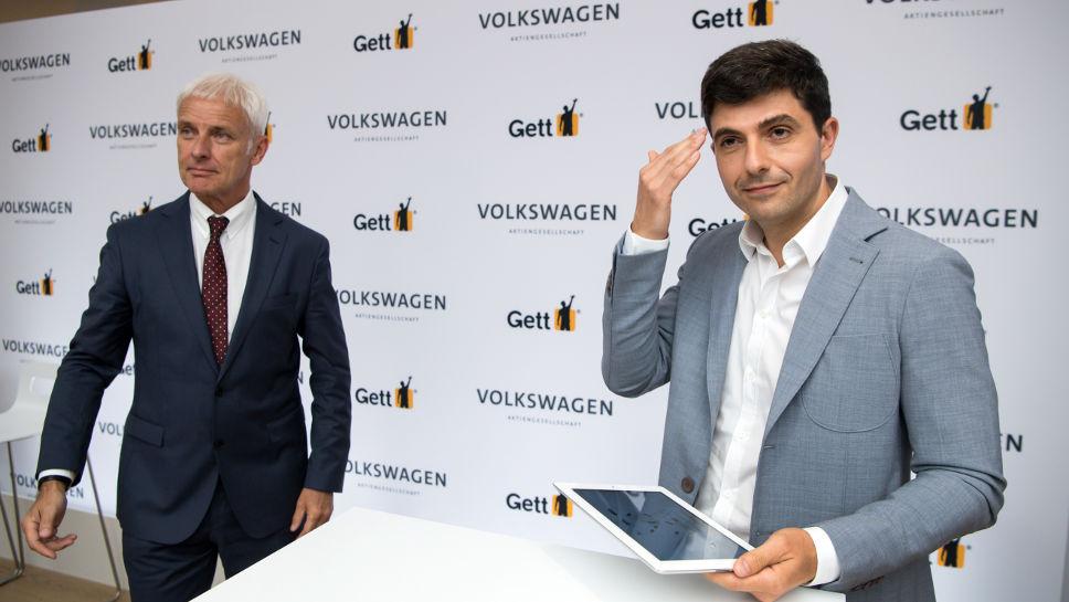 Matthias Müller und Shahar Waiser