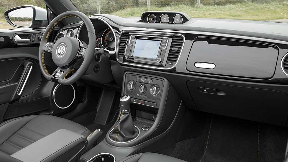 Coolness steht beim VW Beetle Dune im Vordergrund