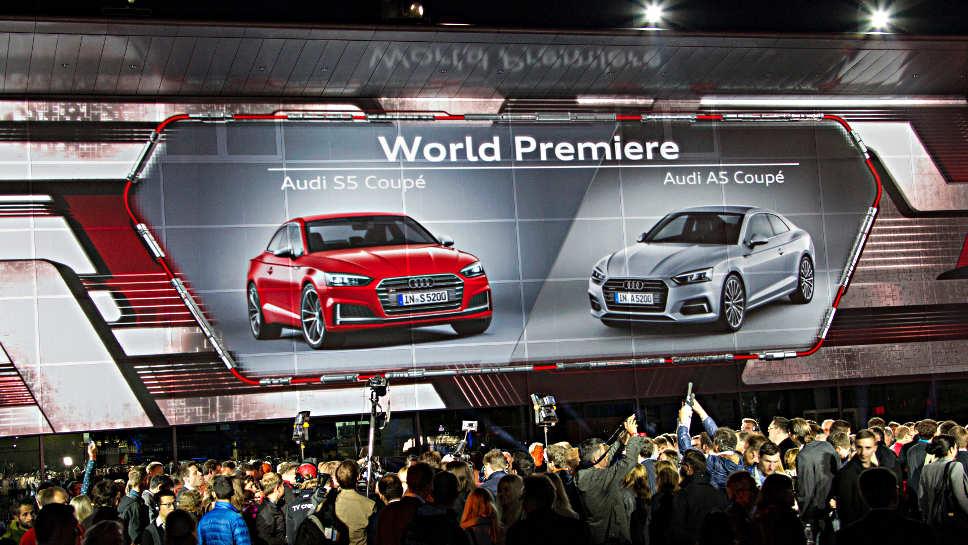 Audi hat in Ingolstadt das neue A5 Coupé vorgestellt.