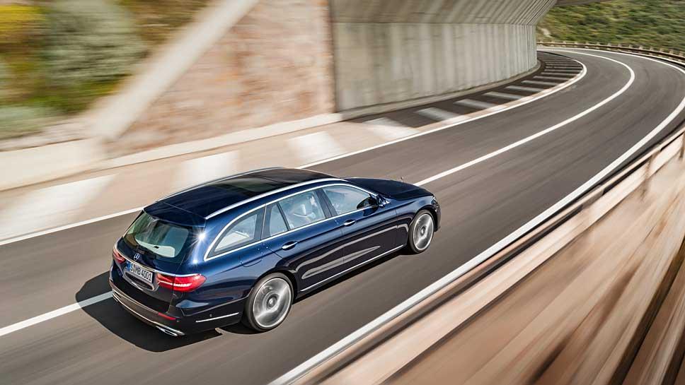 So sieht das T-Modell der Mercedes E-Klasse aus.