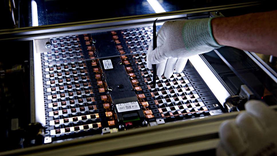 Zelle für Batterieauto