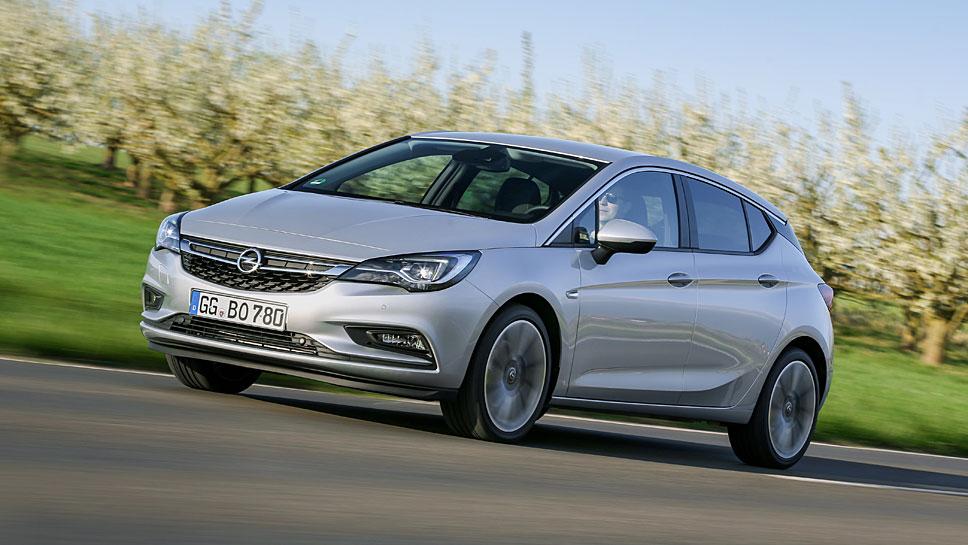 Dank des neue Astra legte Opel deutlich zu