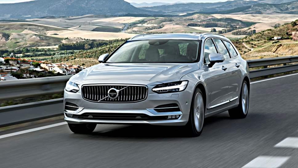 Der Volvo V90 setzt beim Design Maßstäbe.