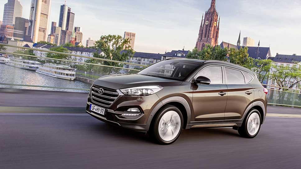 Hyundai stattet den Tucson mit zahlreichen Assistenten aus.