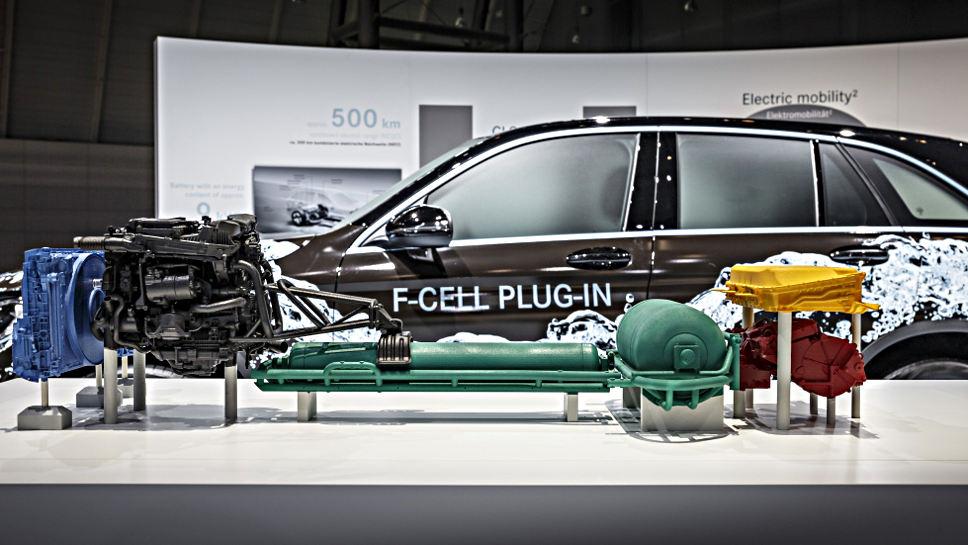Der Mercedes GLC F-Cell lässt noch auf sich warten