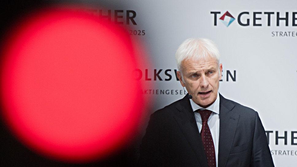 Sind zehn Millionen Euro genug? VW-Chef Matthias Müller.