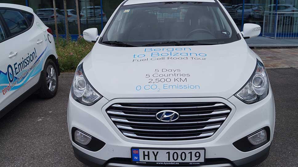 Quer durch Europa mit dem Hyundai ix35 Fuell Cell