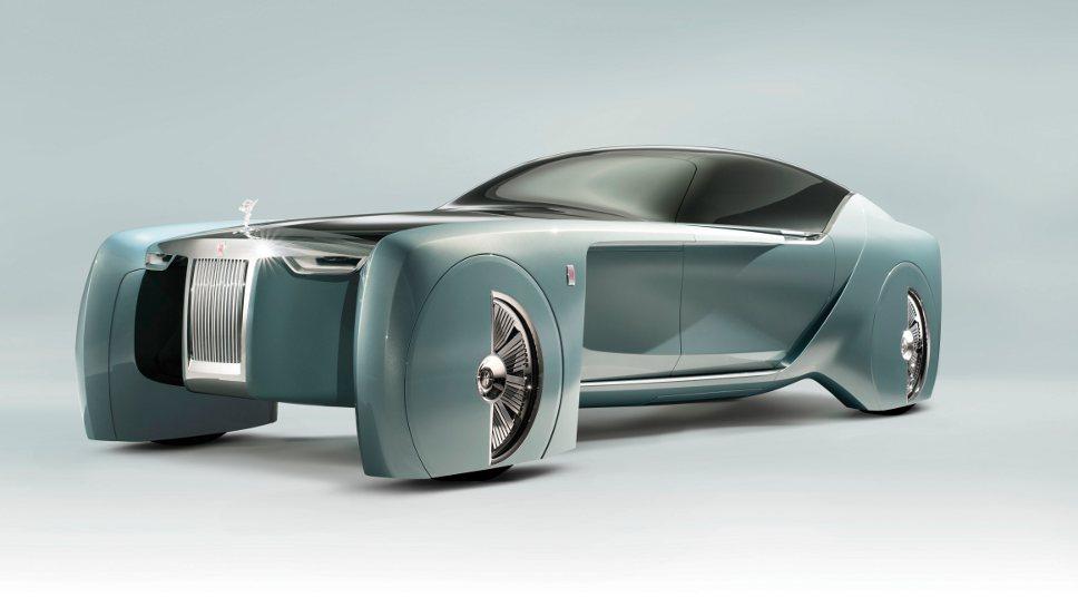 So schaut die Vision Next 100 bei Rolls-Royce aus.
