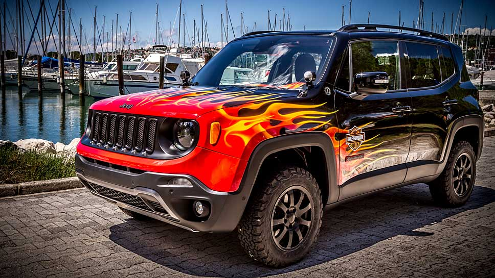 Der Jeep Renegade Hell's Revenge macht richtig heiß