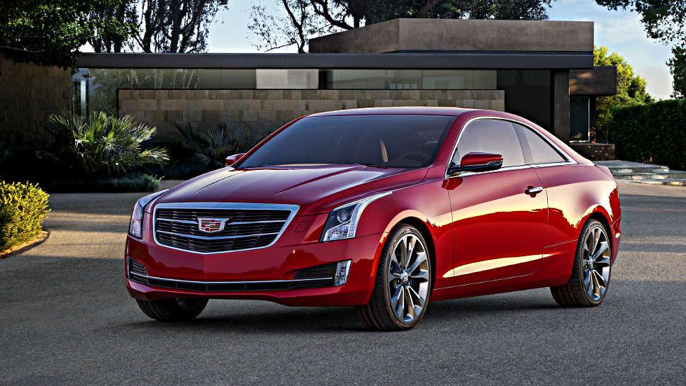 Das ATS Coupe von Cadillac