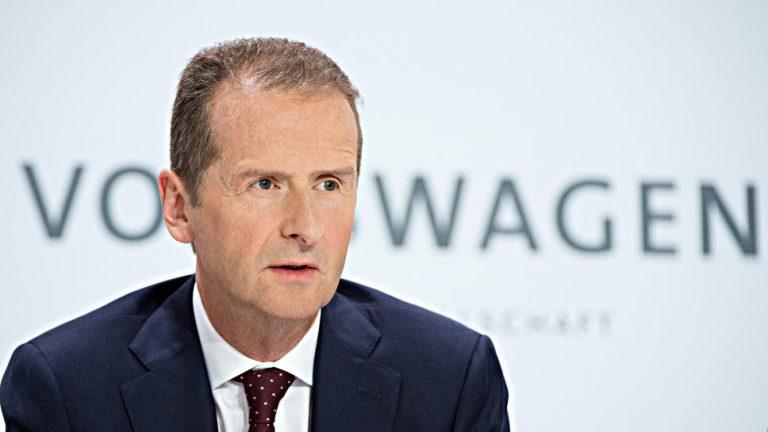 VW-Markenchef Diess fordert 40-Stunden-Woche
