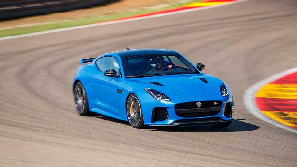 Der Jaguar F-Type SVR ist das schnellste Serien-Modell des Unternehmens