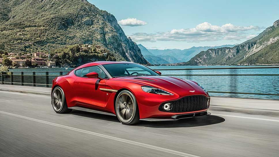 Vom Aston Martin Vanquish Zagato wird eine Kleinserie aufgelegt.
