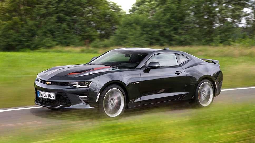 Den Chevrolet Camaro gibt es für knapp 40.000 Euro