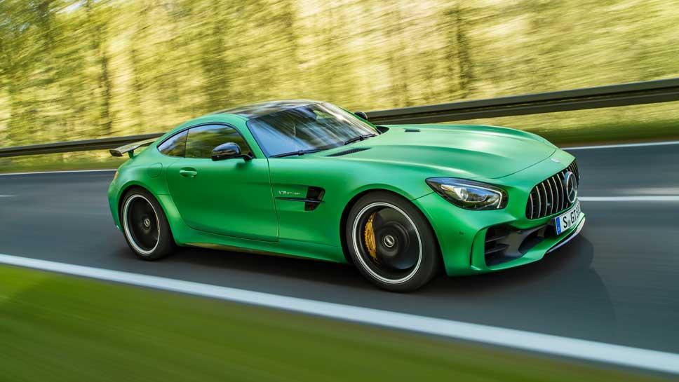 Mercedes-AMG hat mit dem GT R das dritte GT-Modell kreiert.