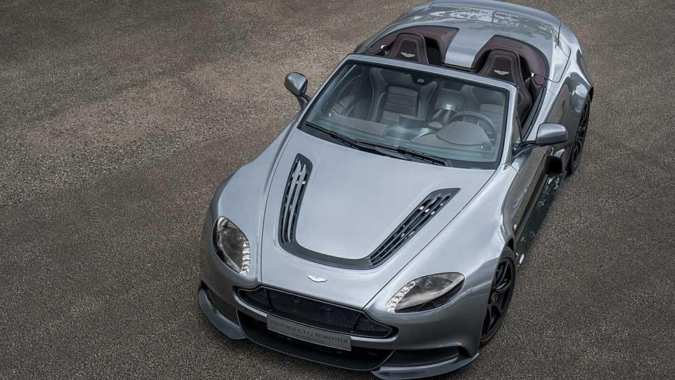 Der Aston Martin Vantage GT12 Roadster bleibt ein Einzelstück