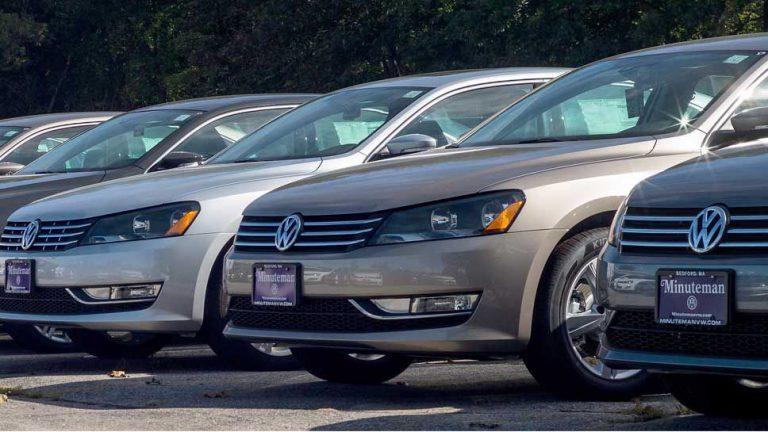 VW punktet auf schwachem US-Markt