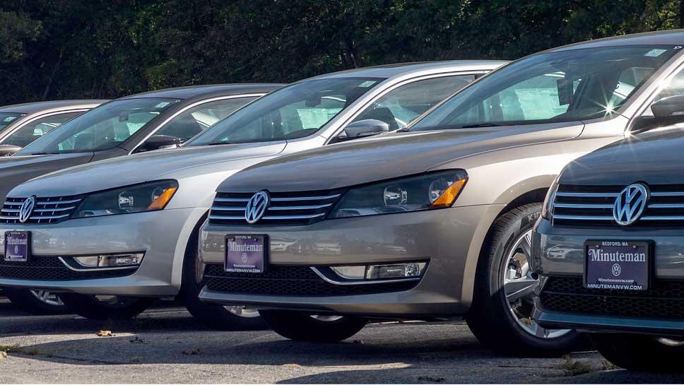 VW legte im Mai in den USA zu