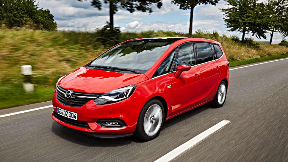 Der neue Opel Zafira kommt im September in den Handel.