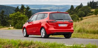 Der Opel Zafira bietet viel Platz