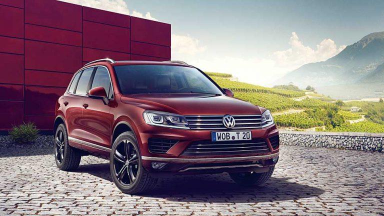 VW veredelt den Touareg