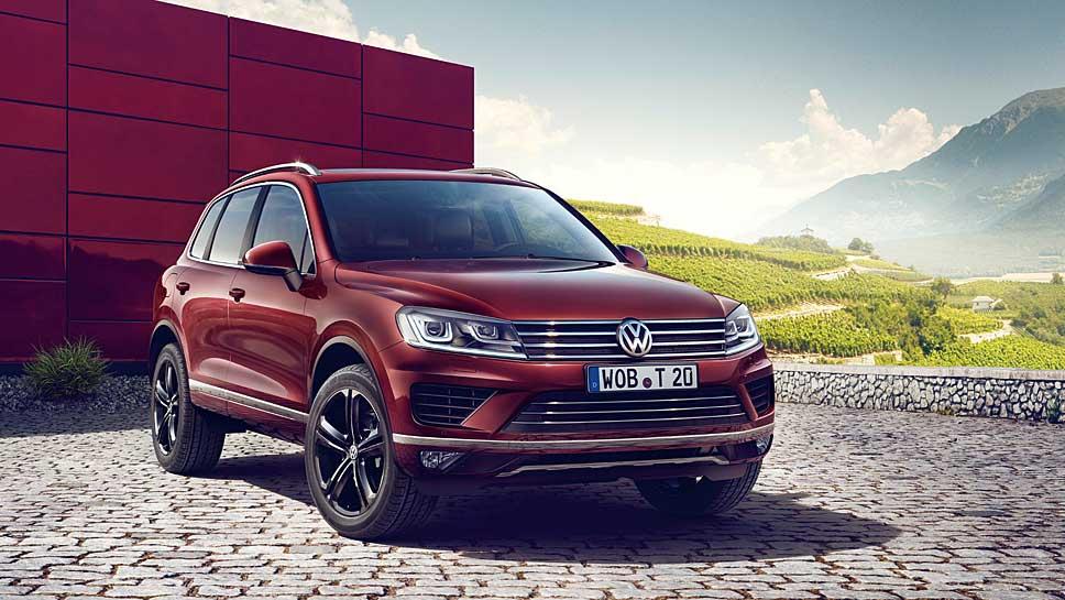 VW veredelt den Touareg zum Abschied.