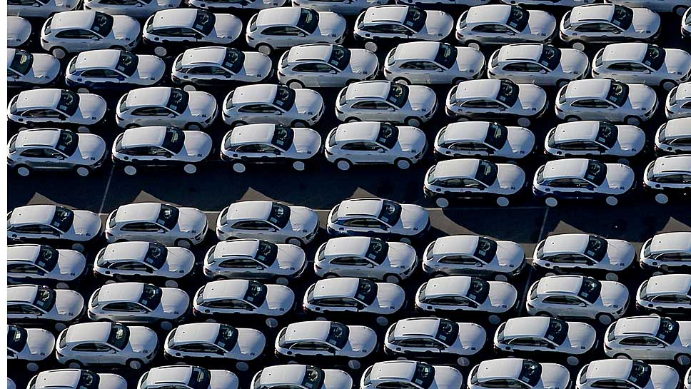 Porsche-Neuwagen in Leipzig