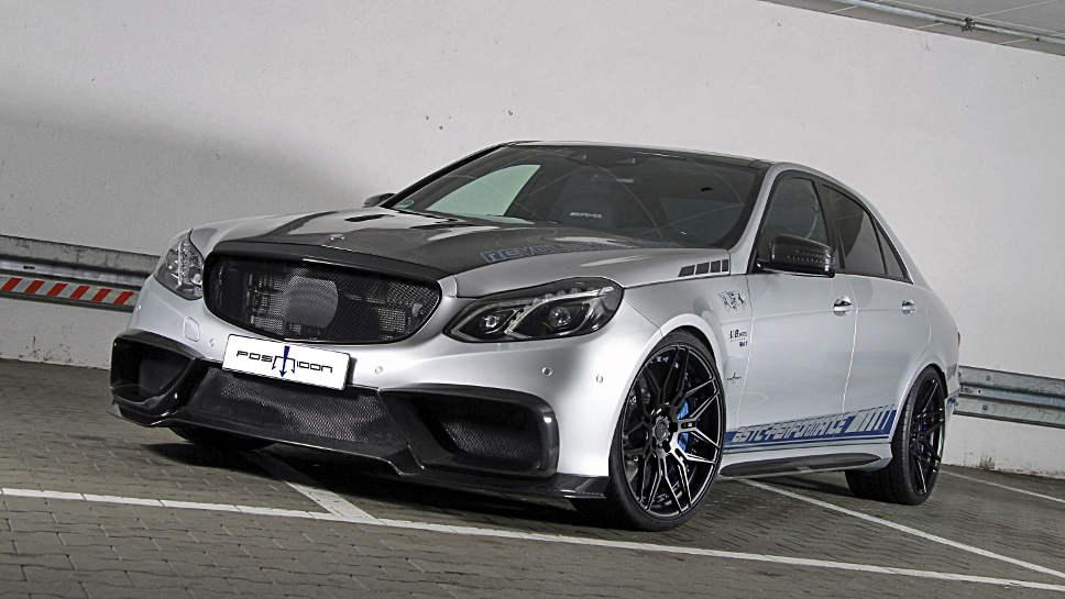 Die Mercedes E-Klasse von Posaidon bringt es auf 1020 PS.