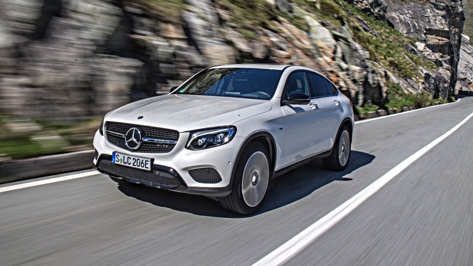 Ab September gibt es den Mercedes GLC als SUV.