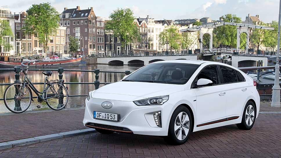 Hyundai forciert mit dem Ioniq die alternativen Antriebe
