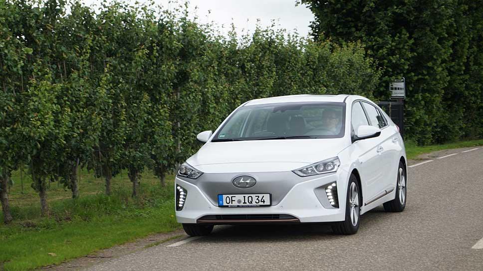 Der Hyundai Ioniq sicherte sich den Titel des Klassenbesten