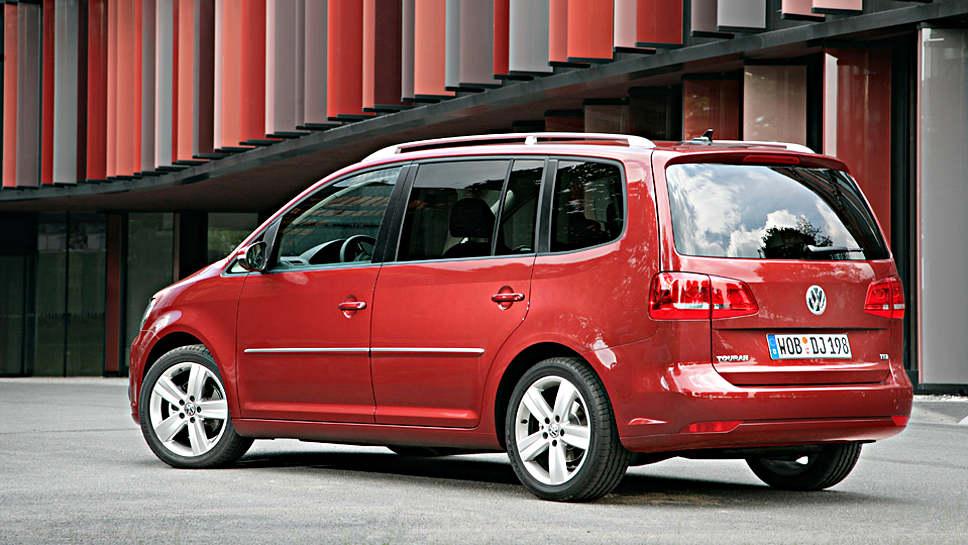 Vom Rückruf betroffen ist auch der VW Touran mit Erdgasantrieb.