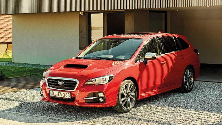 Subaru sichert Levorg ab