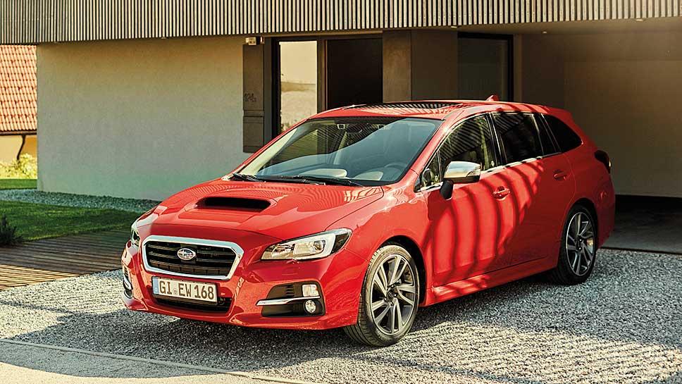 Subaru stattet den Levorg mit Sicherheitsassistenten aus