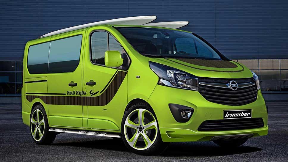 Irmscher modelt den Opel Vivaro um