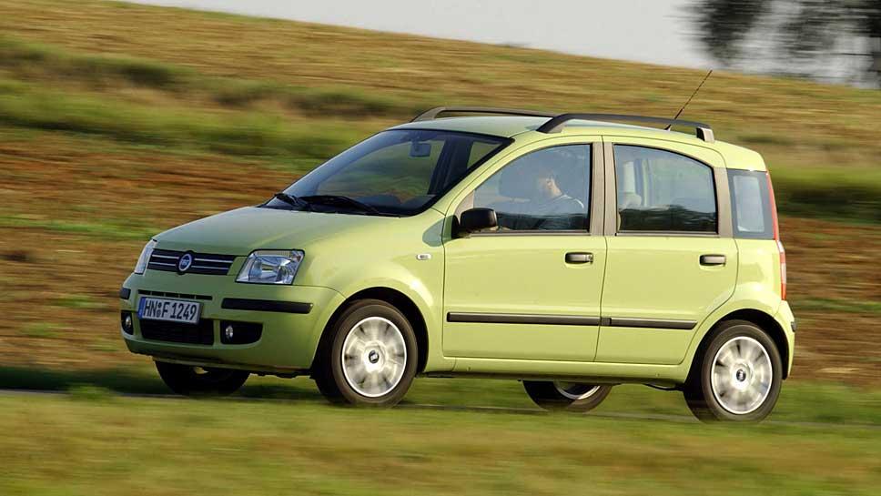 Der Fiat Panda präsentiert sich nicht unbedingt zuverlässig