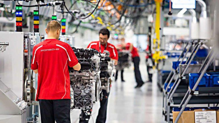 Neues Motorenwerk von Porsche als Kompetenzzentrum für VW