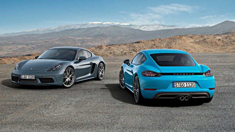 Porsche 718 Cayman: Mehr Sportlichkeit trotz Downsizing