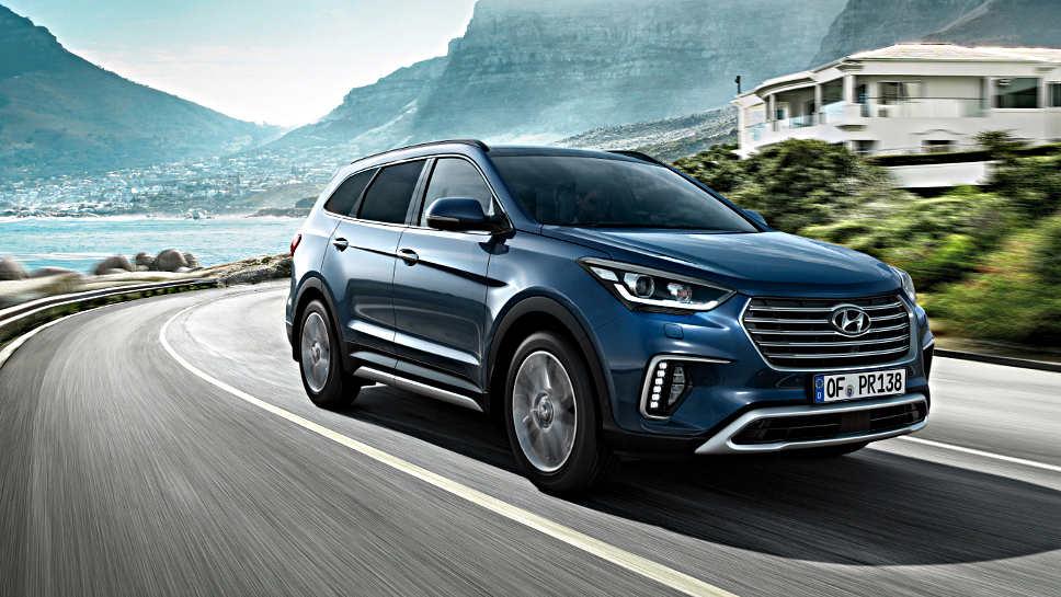 Der Hyundai Grand Santa Fe erhält neue Assistenzsysteme.